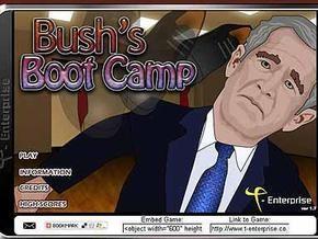В интернете теперь можно спасти Буша от летающих ботинок