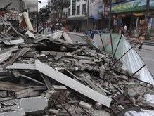 Количество жертв землетрясения в Китае достигло 55 тысяч человек