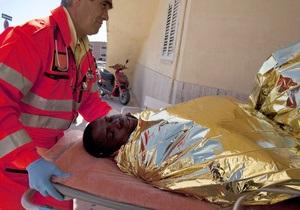 У берегов Италии сегодня могли утонуть до 150 нелегалов