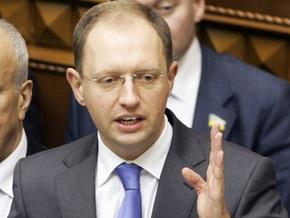 Яценюк предлагает сделать Нафтогаз  украинским газовым монополистом