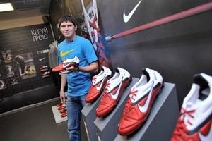 Новые футбольные бутсы Nike CTR360 для Дмитрия Чигринского и Тараса Михалика
