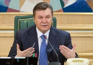 Янукович заявил, что не против лечения Тимошенко за рубежом