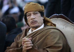 Каддафи пригрозил нанести удары по всему Средиземноморью