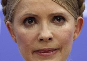 Тимошенко: Налоговый кодекс вынудит украинцев затянуть пояса так, чтобы дышать было невозможно