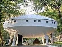 На eBay выставили дом-летающую тарелку