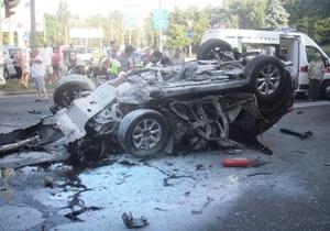 Экспертиза установила, что сотрудник СБУ во время аварии был трезв