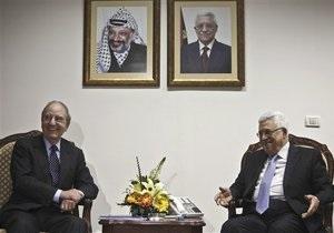 Израиль и Палестина согласились на переговоры при посредничестве США