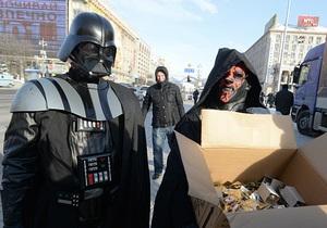 Дарт Вейдер подготовил киевлян к «концу света»