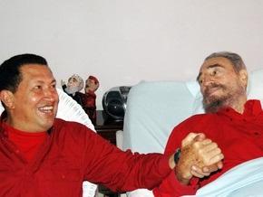 Фидель Кастро встал на защиту Чавеса перед США