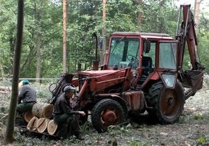 Конфликт в харьковском парке: БЮТ требует отчета Могилева, Добкина и Кернеса