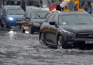 новости Киева - паводки - Власти Киева определили места возможного подтопления паводковыми водами