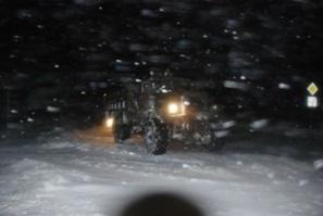 Непогода в Украине: Минобороны помогает разблокировать снежный затор на трассе Киев-Чоп