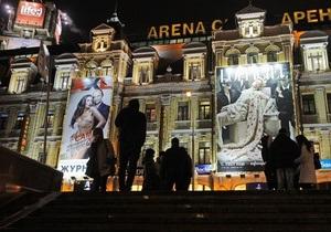 Власти разработают проекты праздничного освещения в центре Киева