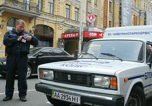 В Киевсовете заявили, что 80% столичных парковок не контролируются властями