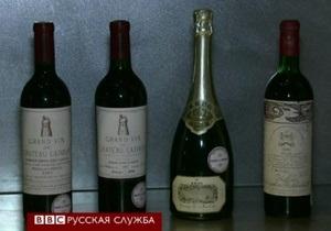 Президент Франции распродает вино
