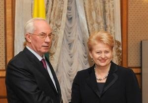 Ситуация критическая: президент Литвы заявила о продлении подписания договора между Киевом и ЕС