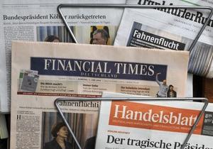 Мэр Нью-Йорка Майкл Блумберг собирается купить издание Financial Times