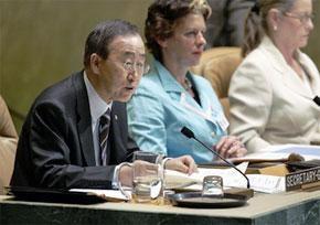 Генсек ООН с трехдневным опозданием представил доклад по ситуации в Закавказье