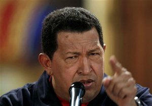 Чавес вылетел на Кубу для прохождения курса лечения от рака