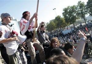Во Франции полиция задержала десятерых школьников, протестующих против пенсионной реформы