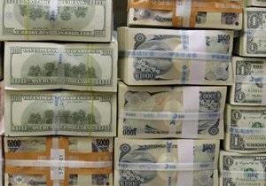 Курсы наличной валюты: Доллар отступил от 8,17 грн