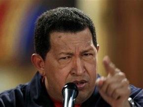 Чавес призвал венесуэльцев готовиться к войне с Колумбией и США