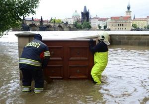 Завтра в Праге ожидается максимальный уровень воды