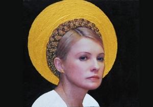 Итальянский иконописец нарисовал Тимошенко с нимбом на голове