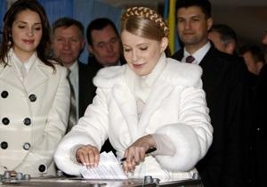 Выборы-2010 в Великобритании: большинство украинцев проголосовали за Тимошенко