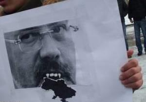 Милиция арестовала участника акции против Табачника