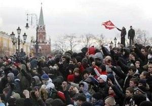 Фан-клуб Спартака и националисты отвергают обвинения в причастности к организации беспорядков