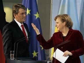 Меркель поддержала Ющенко в вопросе модернизации ГТС - Секретариат Президента