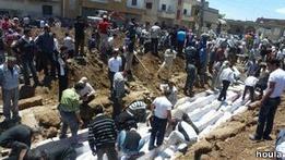 Сирия: Выжившие в Хуле рассказали об ужасах произошедшего