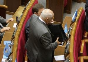 ПР готова поддержать изменения в закон в выборах президента