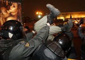 Московская полиция готова разогнать несанкционированные акции независимо от количества участников