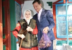Букингемский дворец отреагировал на посылку Ляшко с черниговской картошкой