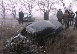 Гражданин России стал виновником ДТП близ Мариуполя