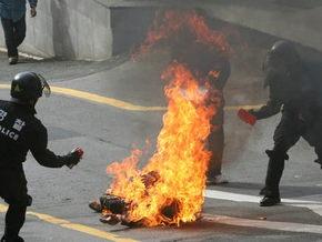 Синьхуа: В центре Пекина три человека совершили акт самосожжения