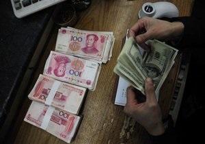 Китай продолжает рекордными темпами наращивать валютные резервы