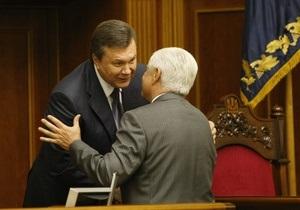 Конфуз в Раде: Янукович не смог открыть дверь президентской ложи