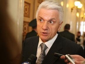 Регионалы не позволили Литвину выступить в зале Рады