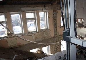 В МЧС уточнили, что жертвами мощного взрыва в Луганске стали трое человек