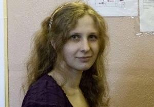 После шести дней голодовки Марию Алехину отправили в больницу