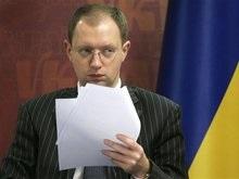 Яценюк: ЦИК должен сам разрешить конфликт