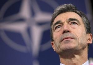Расмуссен: НАТО не намерена создавать с Россией совместную систему ПРО