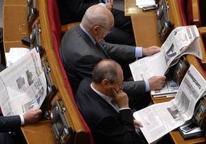 Верховная Рада запретила проверки СМИ перед выборами