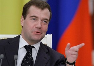 Медведев стал Почетным орленком