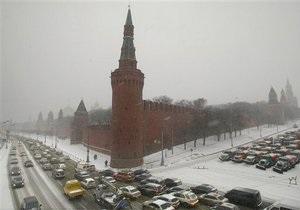 В четверг длина пробок в Москве превысила расстояние от столицы РФ до Мадрида
