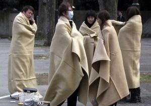 Около полумиллиона японцев живут во временных убежищах