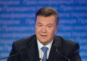 Янукович поздравил с днем рождения президента Франции